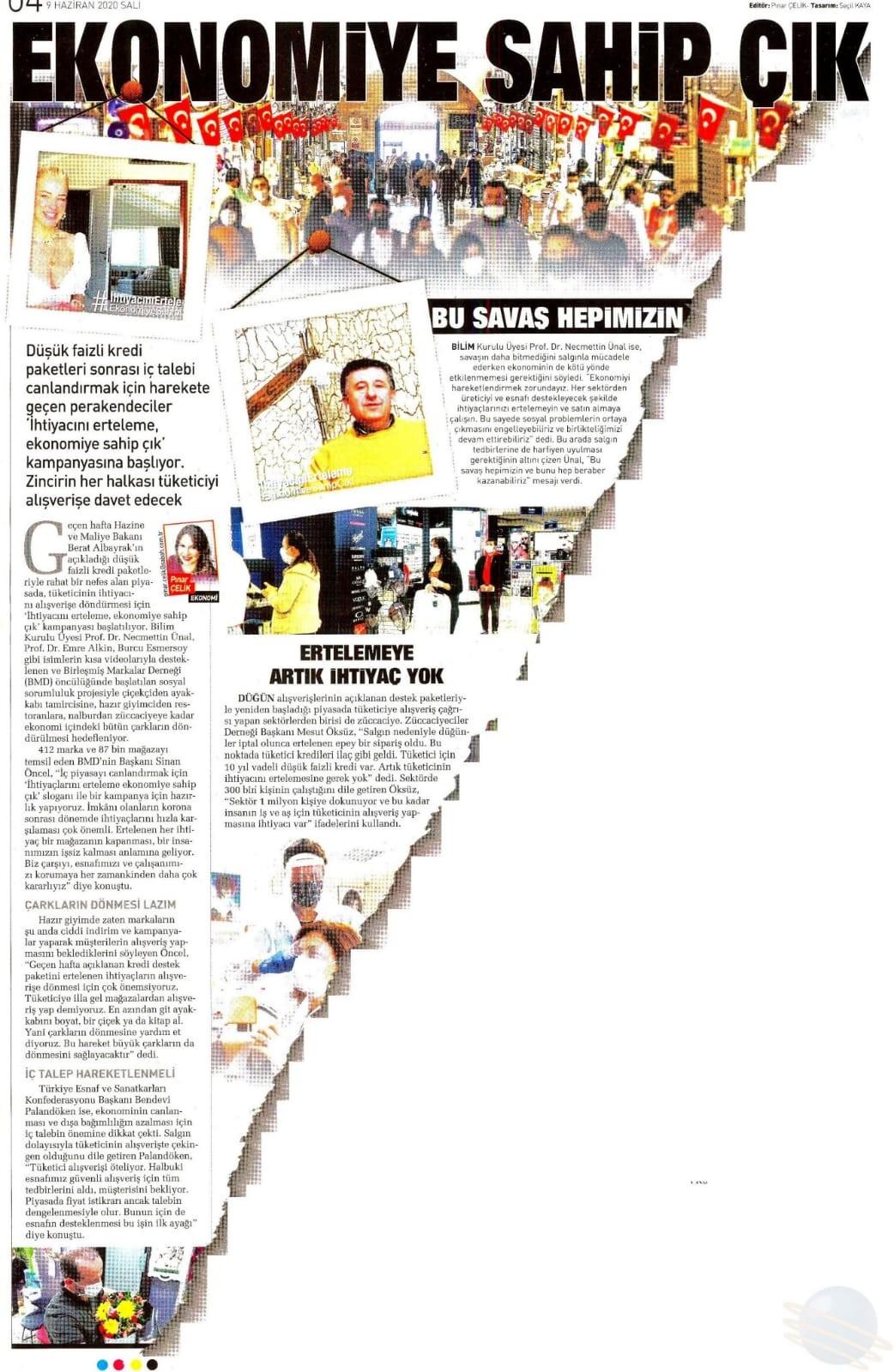 Sabah Gazetesi 09.06.2020