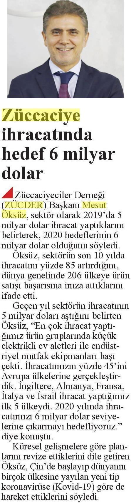 ZÜCDER DİRİLİŞ POSTASI 16.03.2020