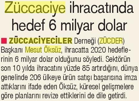 ZÜCDER YENİ ASIR 16.03.2020