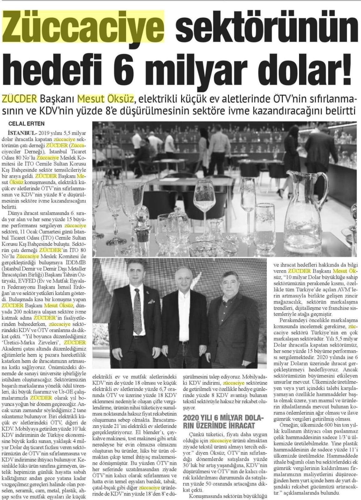 Zücder Bizim Anadolu 14.01.2020