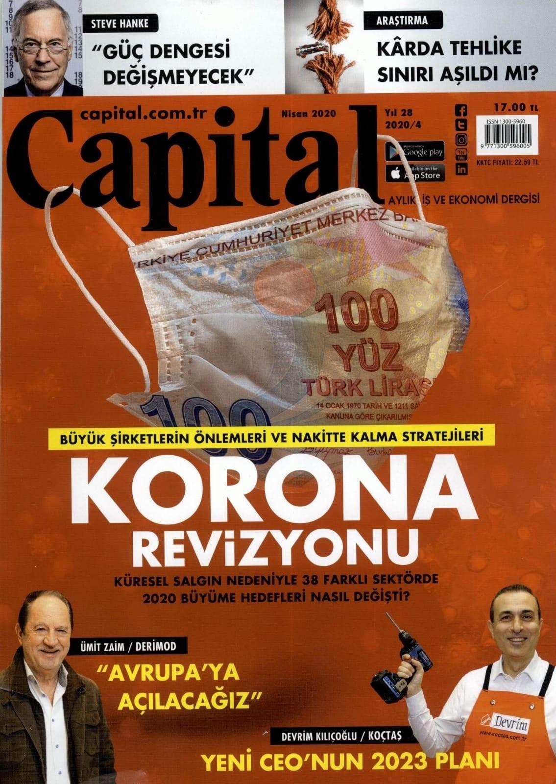 Zücder Capital Kapak 30.03.2020
