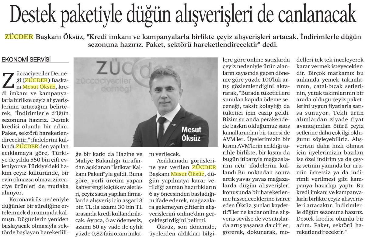 Zücder Hürses 03.06.2020