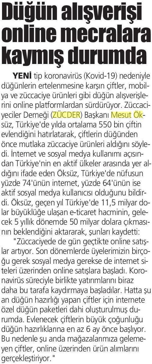 Zücder İstiklal 26.04.2020