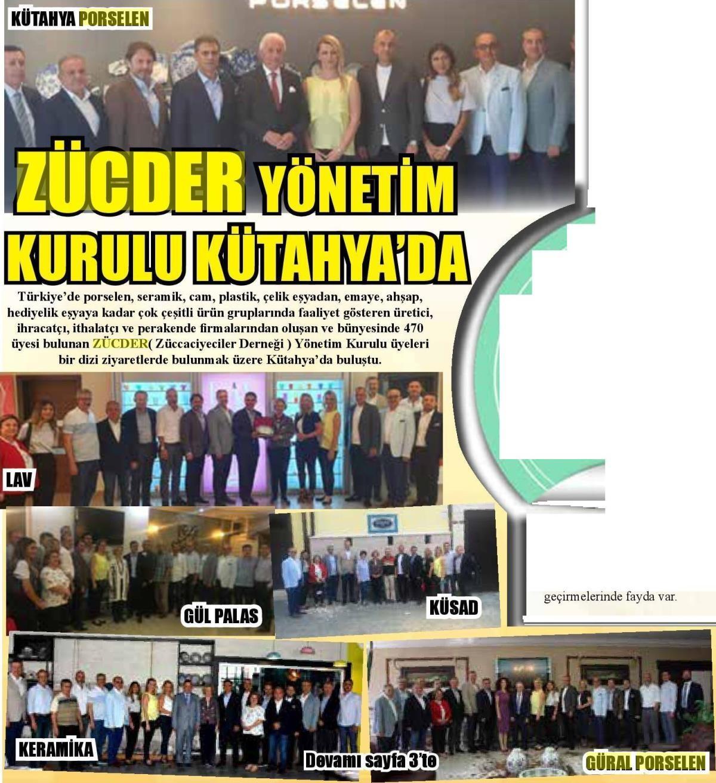 Zücder Kütahya Ekspres 1. 24.06.2019