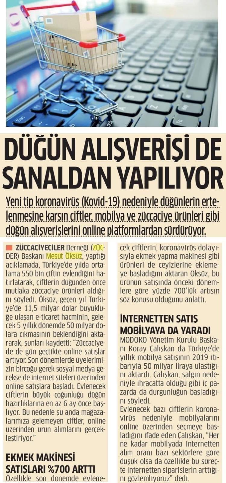 Zücder Milli Gazete 26.04.2020