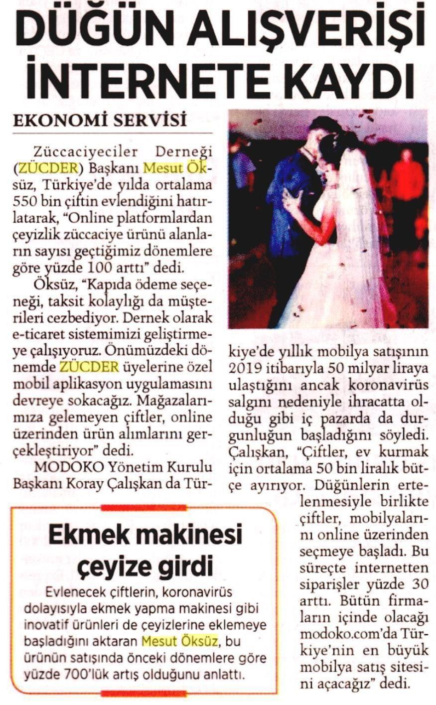 Zücder Milliyet 26.04.2020