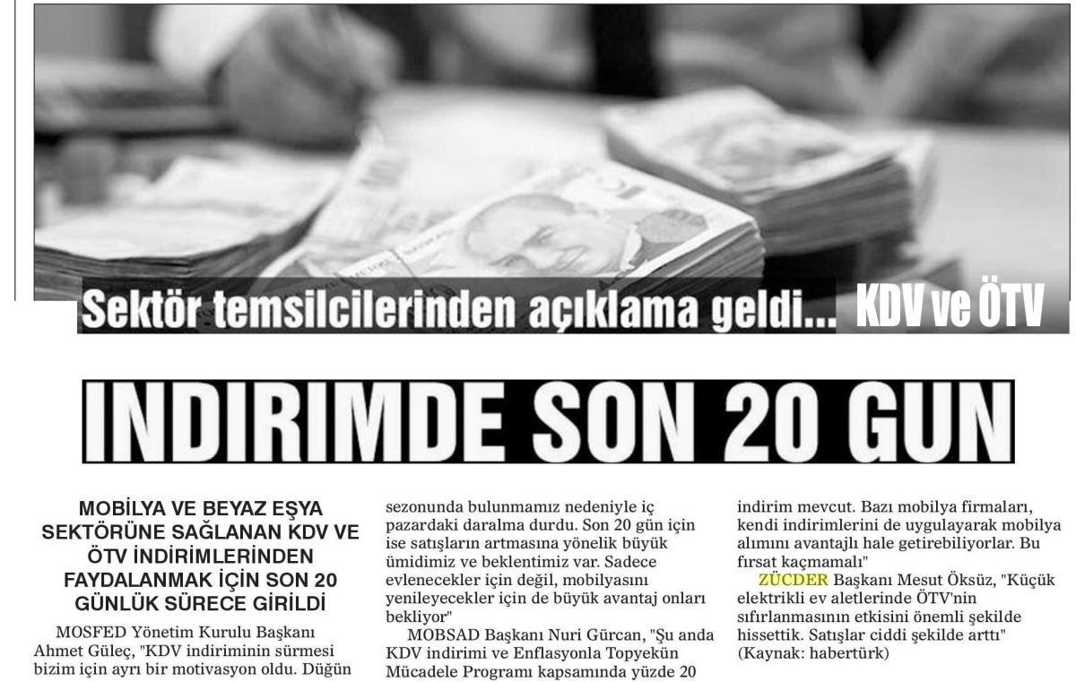 Zücder Tigris Haber 12.06.2019