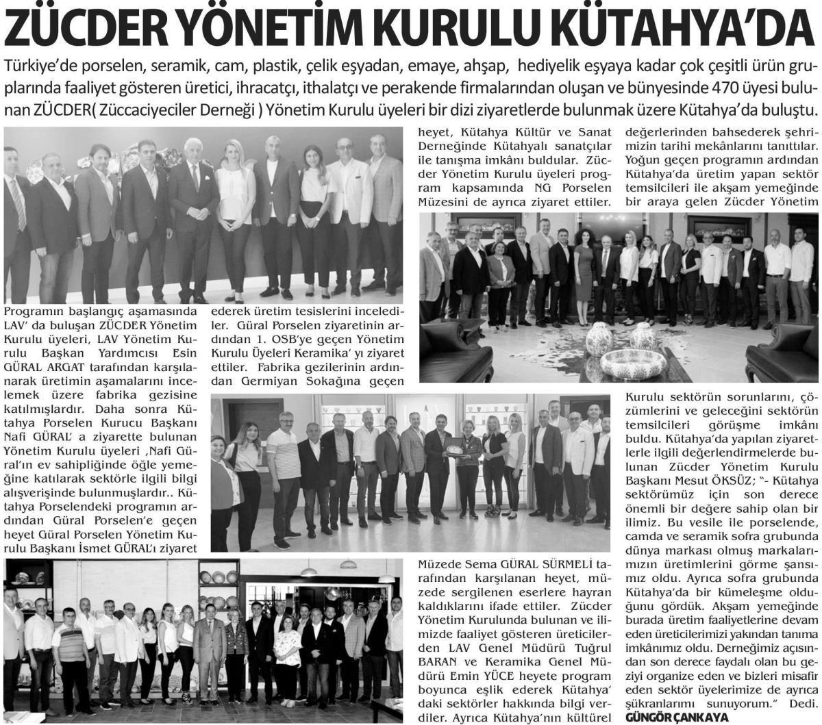 Zücder Yeni Kütahya 25.06.2019