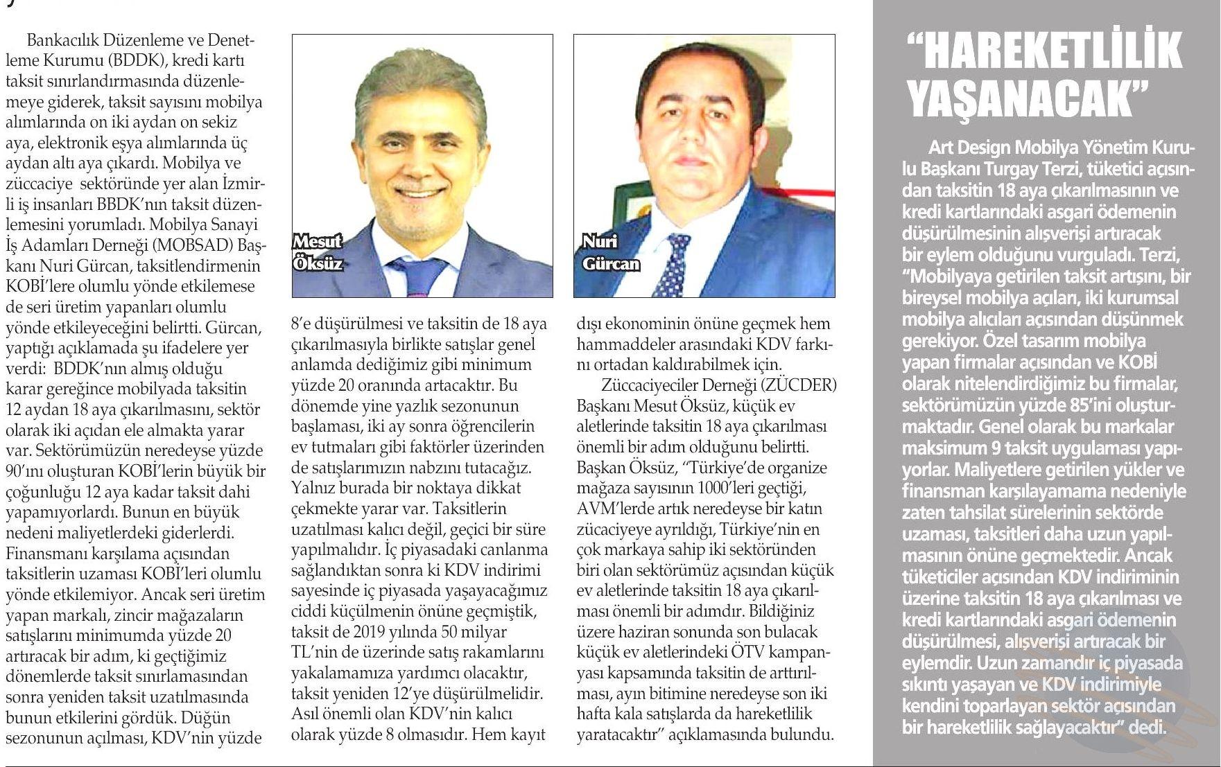 Zücder Yenigün İzmir 20.06.2019
