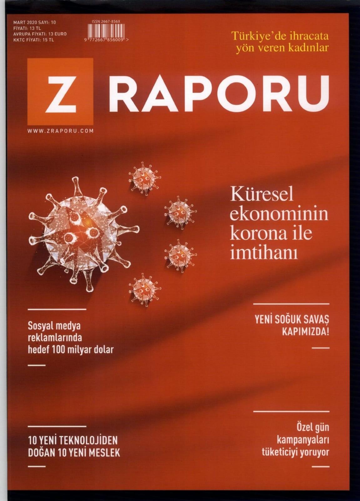 Zücder Z Raporu Kapak 04.03.2020